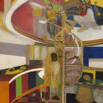 Frank Bowling - Mirror 1966