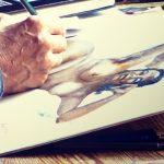 Life drawing studio